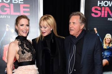 Melanie Griffith Don Johnson 'How To Be Single' New York Premiere - Red Carpet