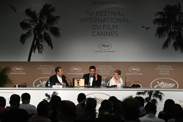 Melanie Thierry Frank Graziano Closing Ceremony Press Conference - The 74th Annual Cannes Film Festival