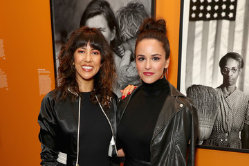 Melissa Fumero Annenberg Space for Photography's 'Not An Ostrich' Exhibit Opening Party