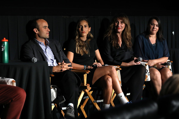 Premiere Of Docu-Series 'Cantera 5v5' During The Tribeca TV Festival [gatorade premiere of docu,event,fashion,performance,convention,talent show,news conference,adaptation,conversation,audience,cantera,latam,5v5,content,l-r,gatorade,tm,tribeca tv festival,premiere]