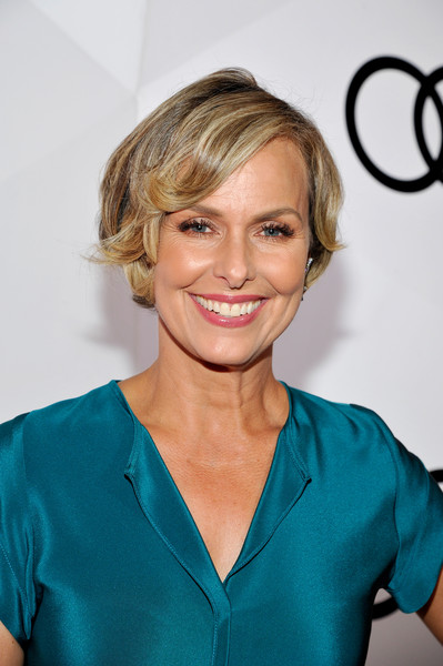 Audi Celebrates the 68th Emmys [hair,beauty,hairstyle,human hair color,blond,eyebrow,smile,fashion model,layered hair,shoulder,melora hardin,emmys,catch la,audi celebrates the 68th emmys,west hollywood,california,audi celebrates]