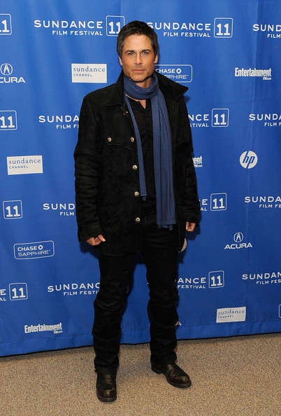 "Actor Rob Lowe attends the ""I Melt With You"" Premiere at the Eccles Center Theatre during the 2011 Sundance Film Festival on January 26, 2011 in Park City, Utah."