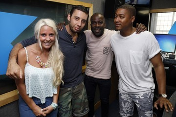 Melvin Odoom Example Visits Kiss.FM