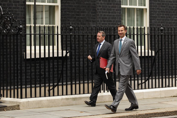 Jeremy Hunt Members Attend The Weekly Cabinet Meeting At Downing Street
