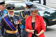 Princess and Prince Michael of Kent attend as members of the Royal Family attend events to mark the centenary of the RAF on July 10, 2018 in London, England.
