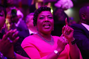 "Bernice King the daughter of Martin Luther King, Jr., attends the IÊAM 2018Ê""MountaintopÊSpeech"" Commemoration at the Mason TempleÊChurch of God in Christ the same place her father delivered his ""Mountaintop"" speech on the eve of his assassination,  April 3, 2018 in Memphis, Tennessee. The city is commemorating the 50th anniversary of King's assassination on April 4, 1968."