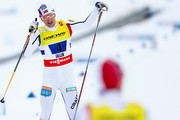 (FRANCE OUT) Havard Klemetsen of Norway takes 3rd place during the FIS Nordic World Ski Championships Men's Nordic Combined Team Sprint on February 28, 2015 in Falun, Sweden.