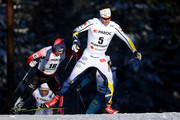 Marcus Hellner of Sweden competes in the Men's Cross Country Skiathlon during the FIS Nordic World Ski Championships on February 25, 2017 in Lahti, Finland.