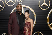 (L-R) Metta World Peace and Maya Ford attend the Mercedes-Benz Academy Awards Viewing Party at The Four Seasons Hotel Los Angeles at Beverly Hills on February 09, 2020 in Los Angeles, California.