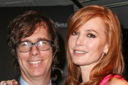 Musician Ben Folds (L) and actress Alicia Witt arrive during Mercedes-Benz arrivals at The Art of Elysium's 7th annual HEAVEN gala on January 11, 2014 in Los Angeles, California.