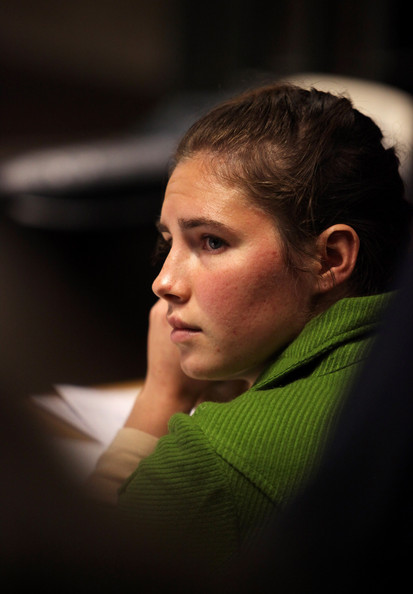 amanda knox hot. hot Amanda Knox found guilty