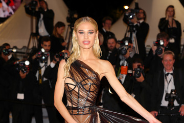 Meredith Mickelson 'Rambo - Last Blood' Red Carpet - The 72nd Annual Cannes Film Festival