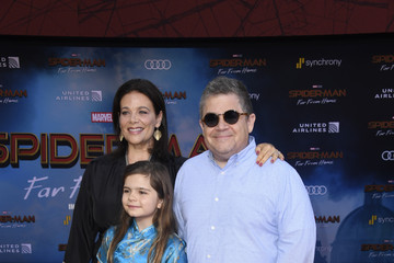 Meredith Salenger Patton Oswalt Premiere Of Sony Pictures' 'Spider-Man Far From Home'  - Arrivals