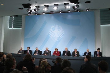 Horst Seehofer Volker Bouffier Merkel Announces Turnaround In Nuclear Energy Policy