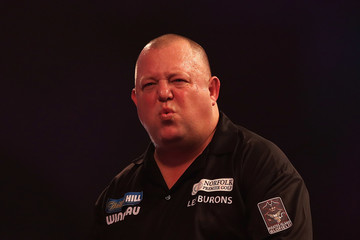 Mervyn King 2017 William Hill PDC World Darts Championships - Day Nine