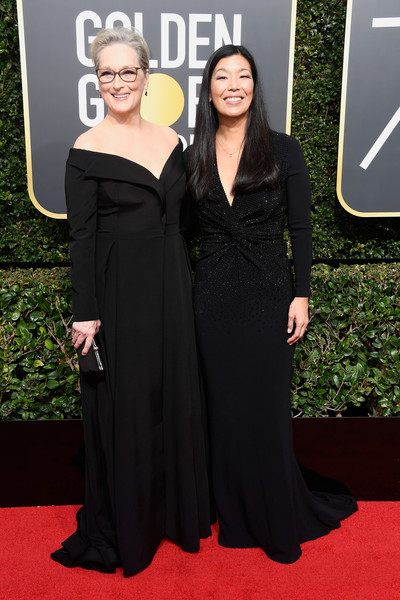 f10f6750854db7 Meryl Streep and Ai-Jen Poo Photos»Photostream · Pictures · 75th Annual  Golden Globe Awards - Arrivals