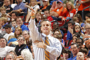 Head Coach Billy Donovan of the Florida Gators calls a play during first half action against the Air Force Falcons at the MetroPCS Orange Bowl Basketball Classic on December 29, 2012 at the BB&T Center in Sunrise, Florida.
