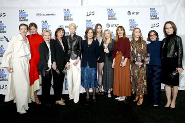 Mia Goth 2019 Film Independent Spirit Awards  - Press Room