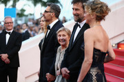 "(L-R) Actors Beatrice Mancini, John Turturro, Guilia Lazzarini, director Nanni Moretti and actress Margherita Buy attend the Premiere of ""Mia Madre"" (""My Mother"") during the 68th annual Cannes Film Festival on May 16, 2015 in Cannes, France."