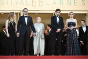 "Beatrice Mancini, John Turturro, Giulia Lazzarini, Nanni Moretti and Margherita Buy attend the Premiere of ""Mia Madre"" (""My Mother"") during the 68th annual Cannes Film Festival on May 16, 2015 in Cannes, France."