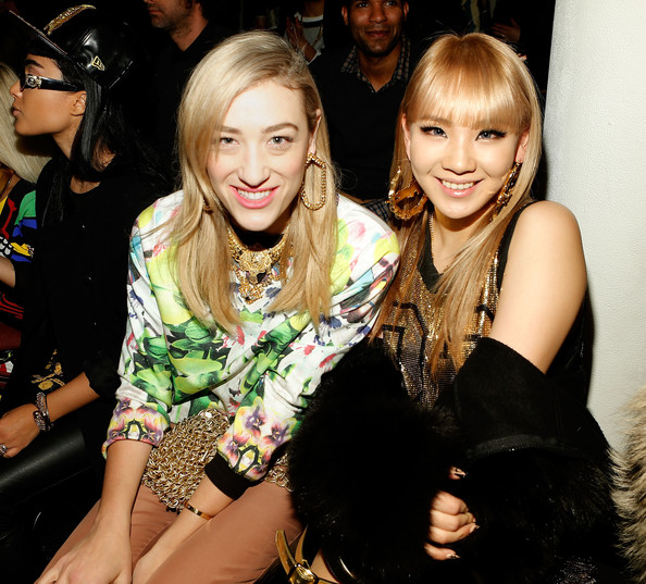 Jeremy Scott - Front Row -  Fall 2013 MADE Fashion Week