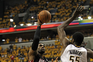 Roy Hibbert Miami Heat v Indiana Pacers - Game Six