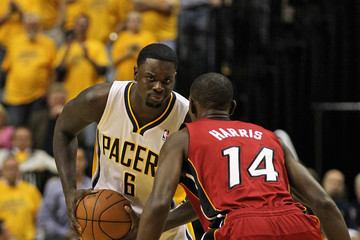 Terrel Harris Miami Heat v Indiana Pacers - Game Three