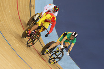 Miao Zhang Olympics Day 8 - Cycling - Track
