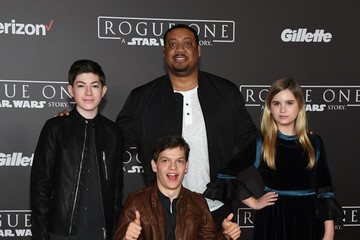 Micah Fowler Premiere of Walt Disney Pictures and Lucasfilm's 'Rogue One: A Star Wars Story' - Arrivals