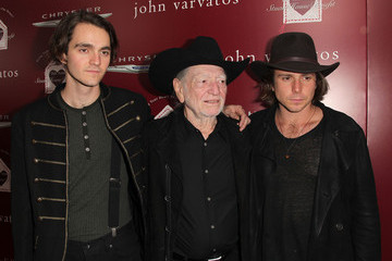Micah Nelson Arrivals at the John Varvatos Stuart House Benefit