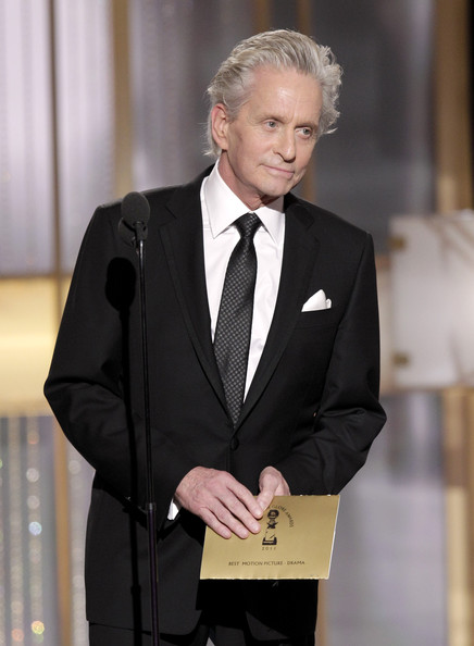 Michael Douglas - 68th Annual Golden Globe Awards - Show