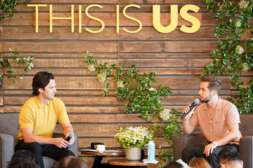 Michael Angarano NBC's 'This Is Us' Pancakes With The Pearsons - Panel