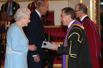 Michael Arthur The Queen's Anniversary Prizes
