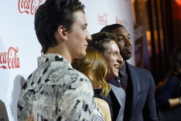 Michael B. Jordan Miles Teller CinemaCon 2015 - The CinemaCon Big Screen Achievement Awards Brought To You By The Coca-Cola Company - Red Carpet