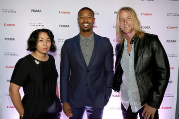 Michael B. Jordan Celebs at the Canon Event in Austin