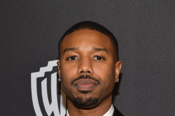Michael B. Jordan The 2019 InStyle And Warner Bros. 76th Annual Golden Globe Awards Post-Party - Red Carpet