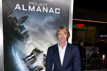 Michael Bay 'Project Almanac' Premieres in Hollywood