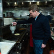 Michael Bennett SiriusXM Broadcasts 2020 New Hampshire Democratic Primary Live From Iconic Red Arrow Diner - Day 2