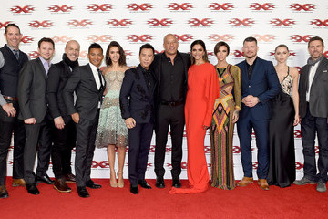 Michael Bisping Paramount Pictures' 'xXx: Return of Xander Cage' - European Premiere
