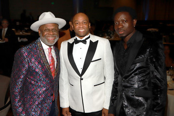 Michael Blackson Charmaine Blake and Hollywood Tribute Oscar Viewing Dinner. To Benefit the Faber Ryan Youth Foundation
