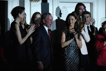 Michael Bloomberg Georgina Bloomberg The ONE Campaign and (RED) Mark World AIDS Day and Celebrate 10 Years of Progress with a Concert at Carnegie Hall in New York