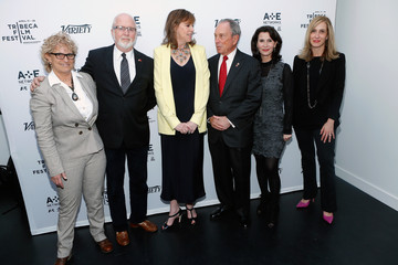 Michael Bloomberg Katherine Oliver 'New York: Capital of Content' Event in NYC