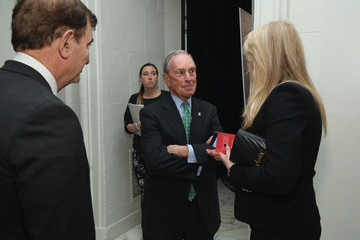 Michael Bloomberg AFMDA Red Star Gala - Inside
