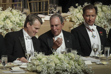 Michael Bloomberg Nikki Haley Honored At Annual Alfred E. Smith Memorial Foundation Dinner