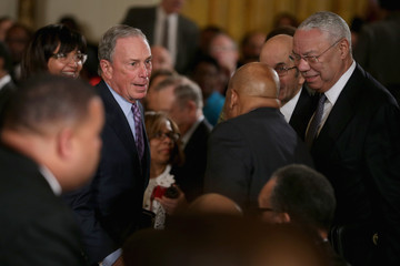 Michael Bloomberg Barack Obama Discusses Brother's Keeper Initiative