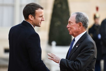 Michael Bloomberg One Planet Summit in Paris