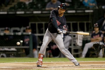 Michael Brantley Cleveland Indians vs. Chicago White Sox