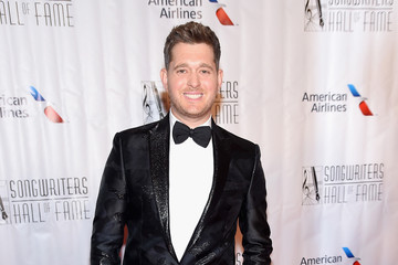 Michael Buble Musicians Gather at the Songwriters Hall of Fame 46th Annual Induction and Awards