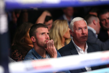 Michael Carrick Boxing at Manchester Arena