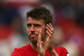 Michael Carrick Manchester United v Crystal Palace - Premier League